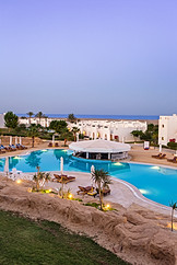 View from Room at Hilton Marsa Alam