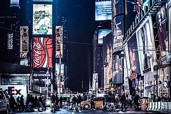 Manhattan Night Moment