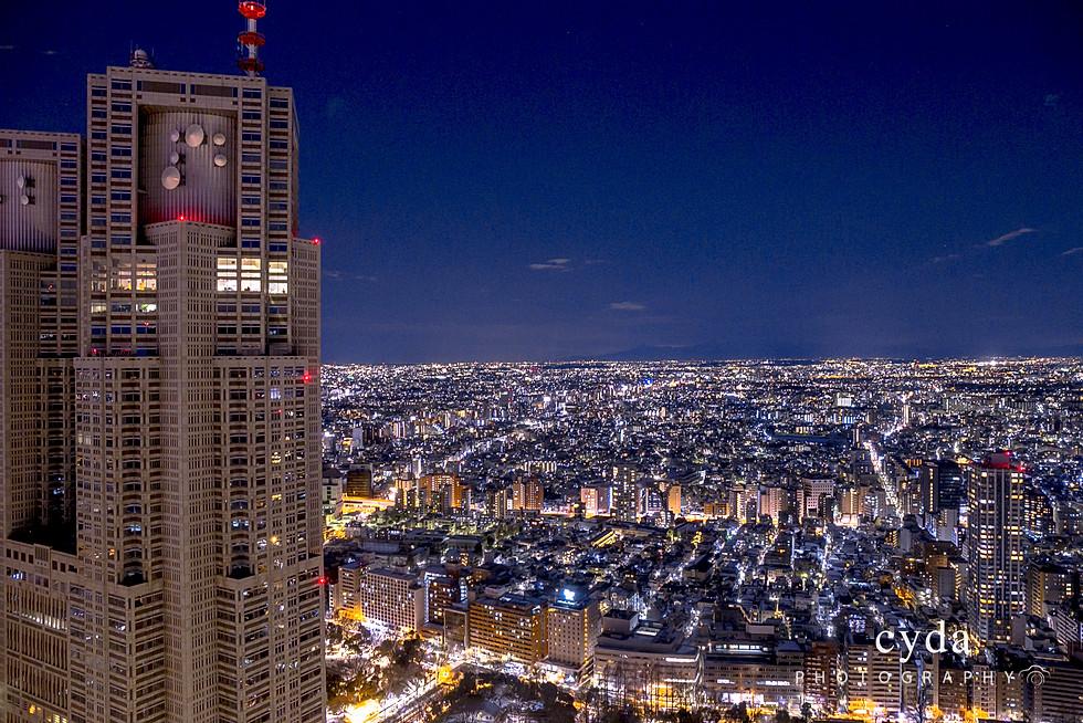 Shinjuku Night Scene