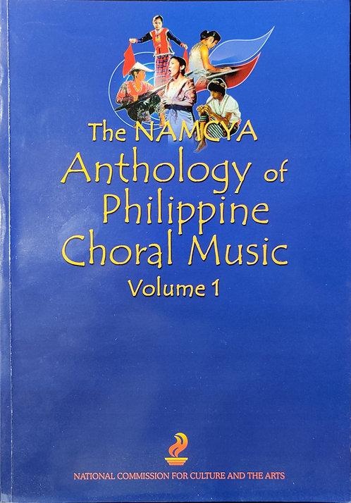 The NAMCYA Anthology of Philippine Choral Music - Volume 1