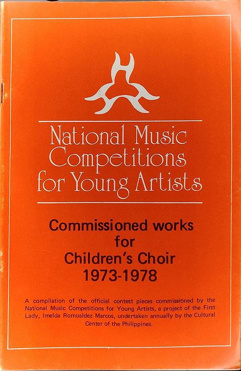 NAMCYA Commissioned Works for Children's Choir 1973-1978
