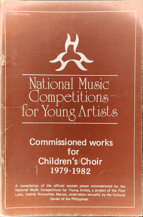 NAMCYA Commissioned Works for Children's Choir 1979-1982
