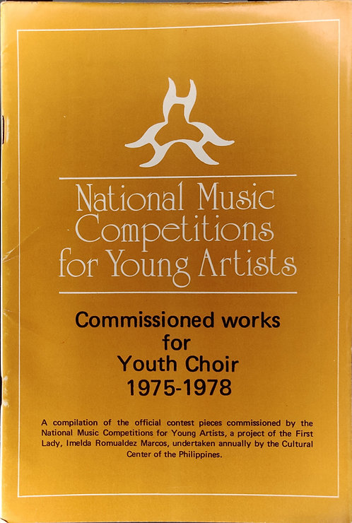 NAMCYA Commissioned Works for Youth Choir 1975-1978