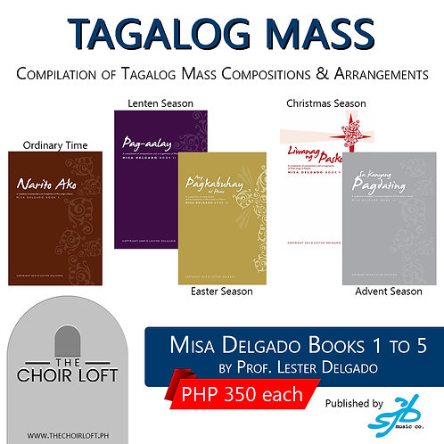 Misa Delgado Book Series (Tagalog)