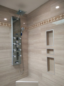 Shower tower