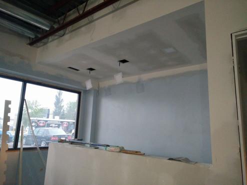 Spotlights reception area