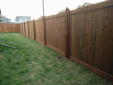 Fence is ready