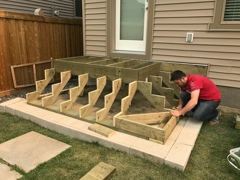 Deck structual