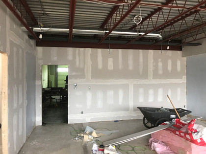 Drywall & mud