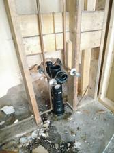 Washroom plumbing
