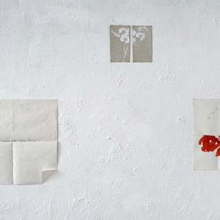 3 drawings on paper