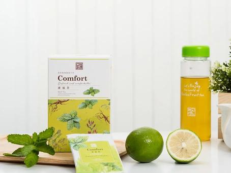 禾SPA店內提供最呵護您的飲品-康福茶