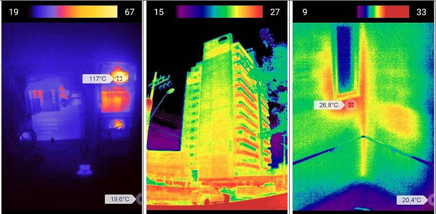 Inspeção termográfica em curitiba