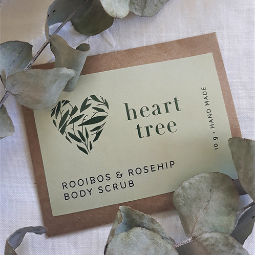 10g Rooibos & Rosehip Matcha Body Scrub