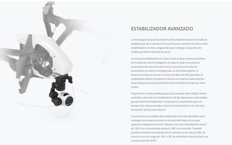 DJI Zenmuse X3 Info3