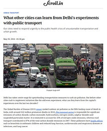 What other cities can learn from Delhi's