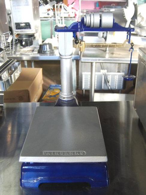 like-new, affordable, commercial, kitchen equipment, lehighton, allentown, bethlehem, platform scale, vintage, fairbanks