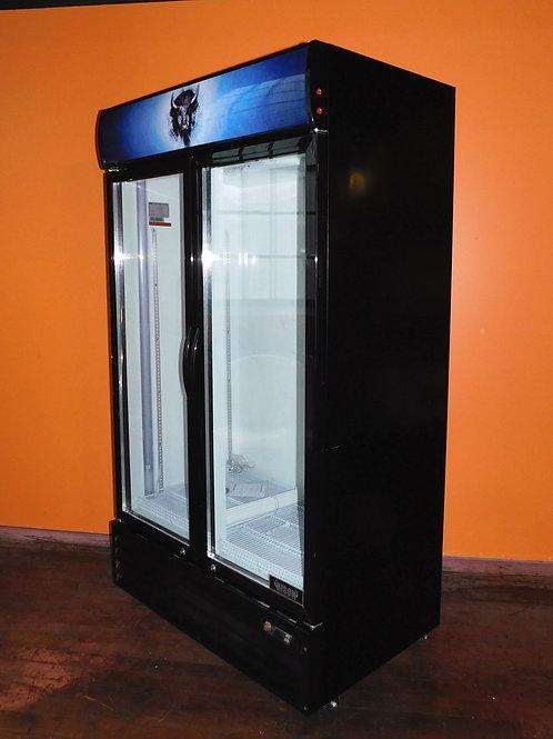 Bison Glass Door Merchandiser Refrigerator
