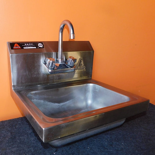 Stainless Steel Hand Sink with Faucet from Aero