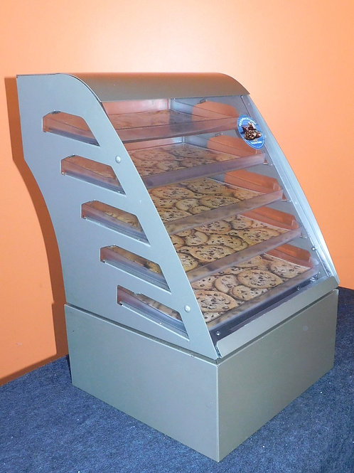4 Drawer Countertop Cookie Display Case with Storage