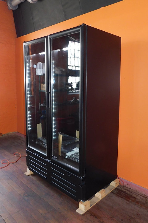 Imbera 2 Door Glass Door Merchandiser Refrigerator