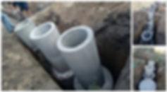 Септик из бетонных колец в одесской области