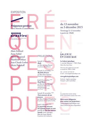 Alain Frentzel et Alexis Poliakoff à la Galerie Épisodique
