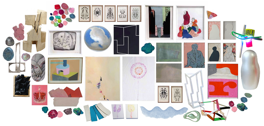 Les artistes de la Galerie Pixi, sculpture, peinture, dessin