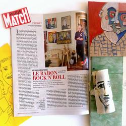 Paris Match - Article d'Aurélie Raya