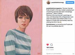 Purple Fashion Magazine Instagram
