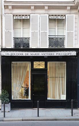 devanture Galerie Pixi - Marie Victoire Poliakoff
