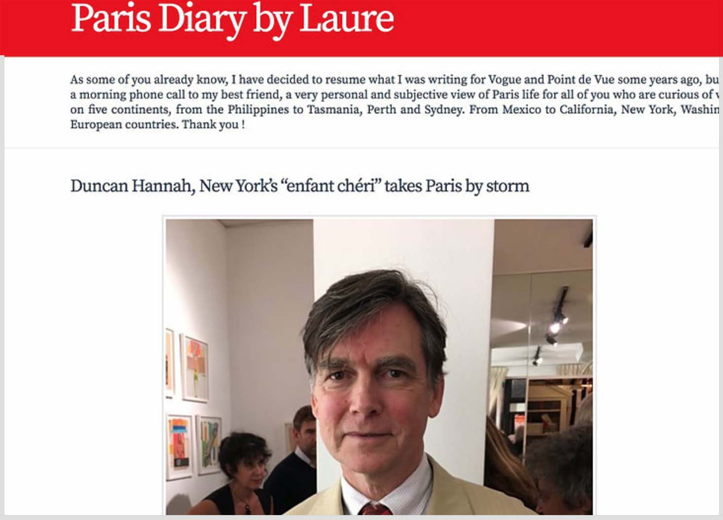 Paris Diary by Laure