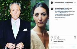 Instagram d'Antoine de Caunes