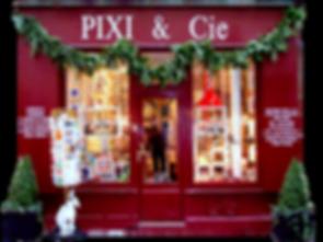 La boutique PIXI / La boutique Rouge