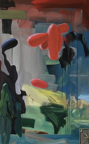 paysage, 145x90 cm, 2015-16