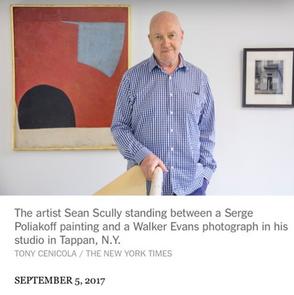 Press / l'artiste Sean Scully parle de sa peinture de Serge Poliakoff, The New York Times