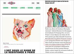 Libération - GALERISTES : MARY CLERTÉ