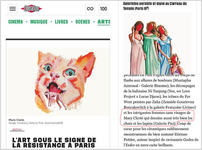 Libération - GALERISTES : MARY copie.jp