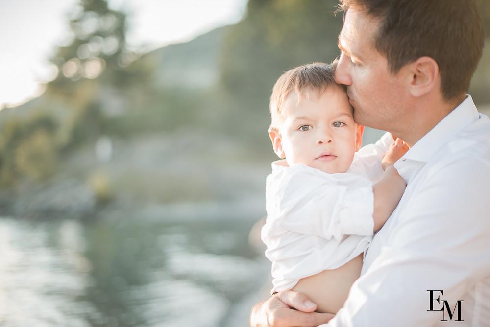 magnifique photos père et fils