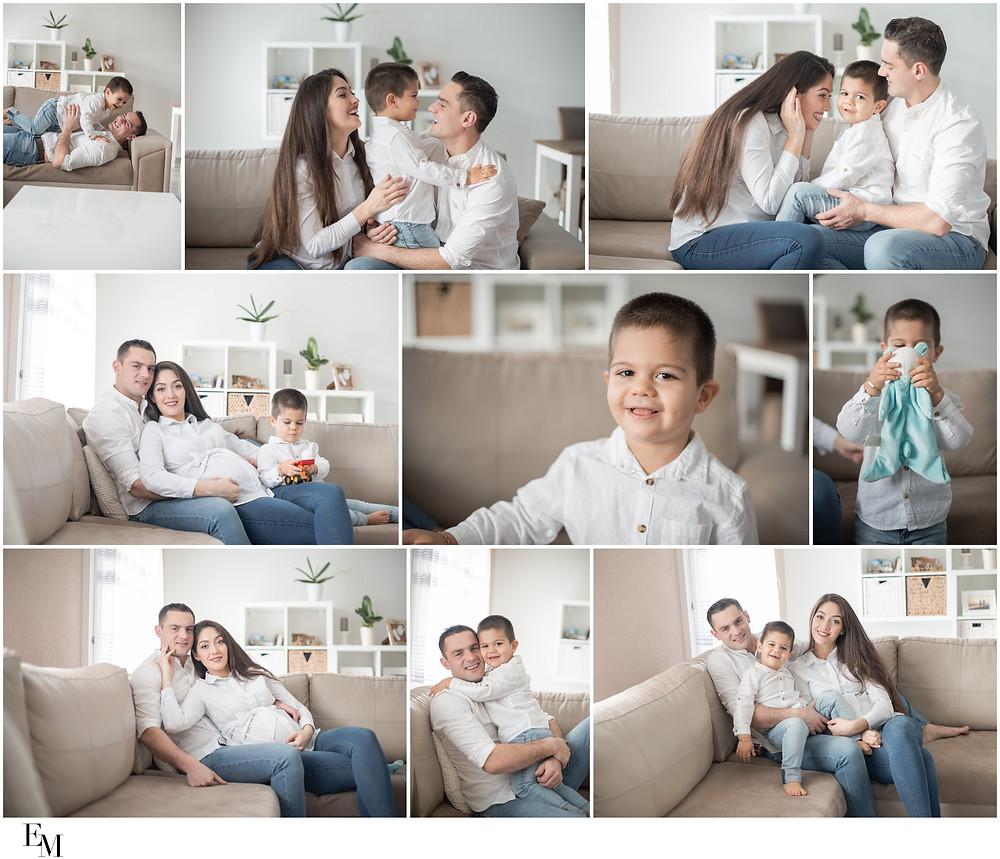 photographe famille à la maison, valais