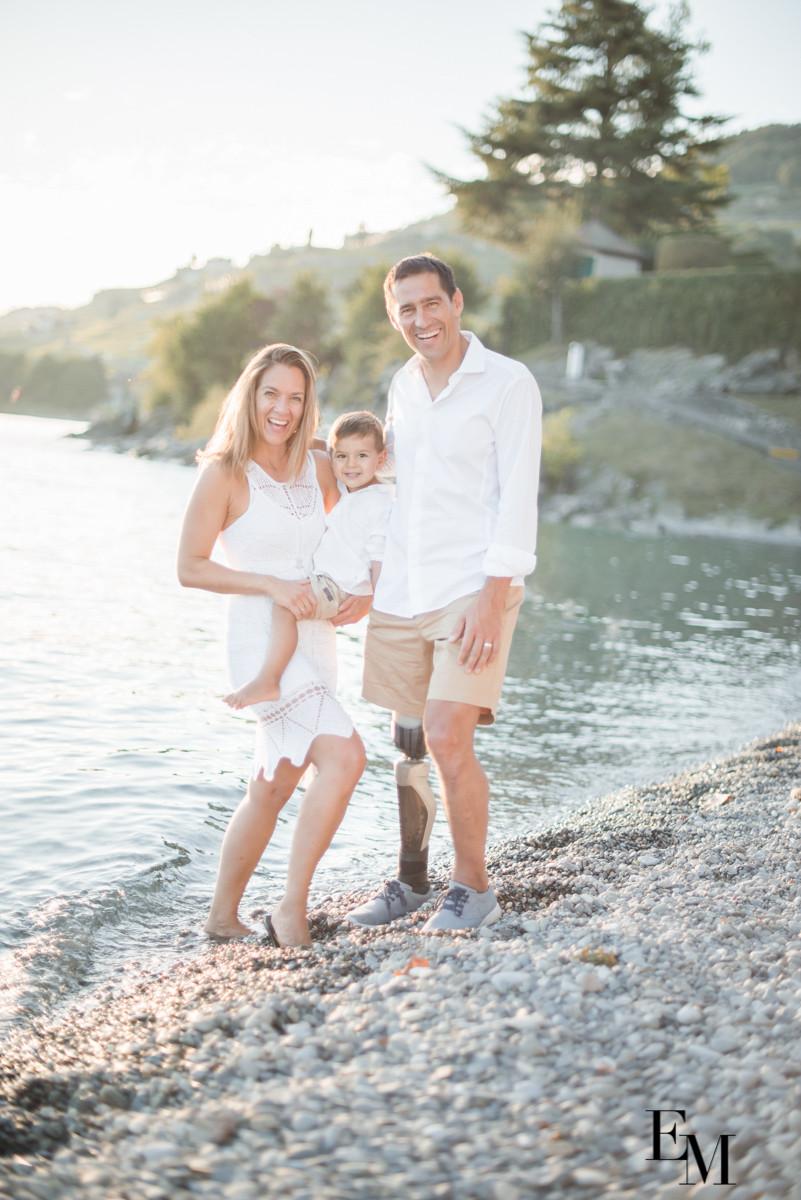 Photos Famille Lac Léman Vevey