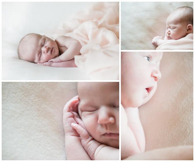 Séance nouveau-né avec un amour de bébé