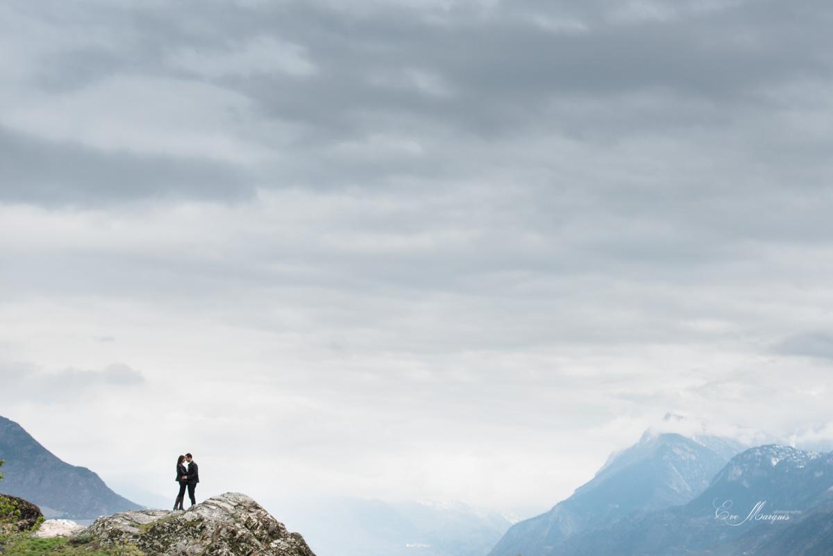 Séance photos de couple Valais