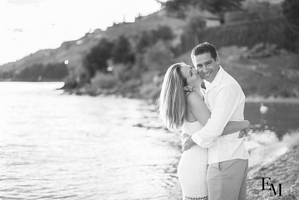 Photographe couple romantique Vevey