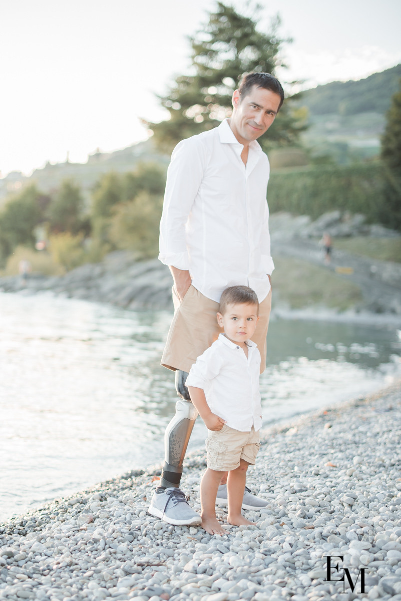 Complicité en photos père et fils vaud