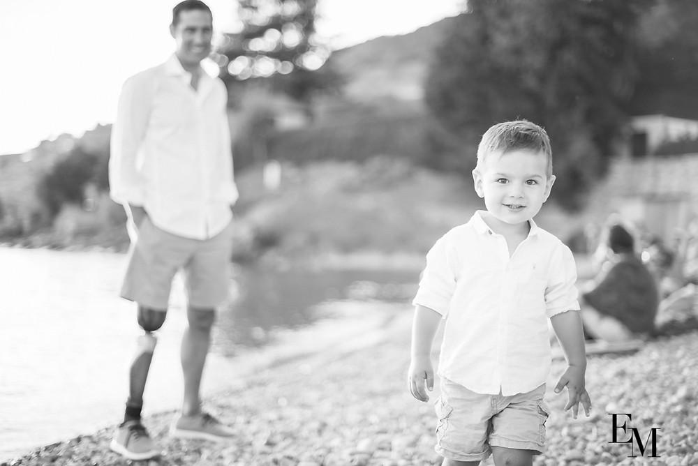 Photo de Papa fier de son fils