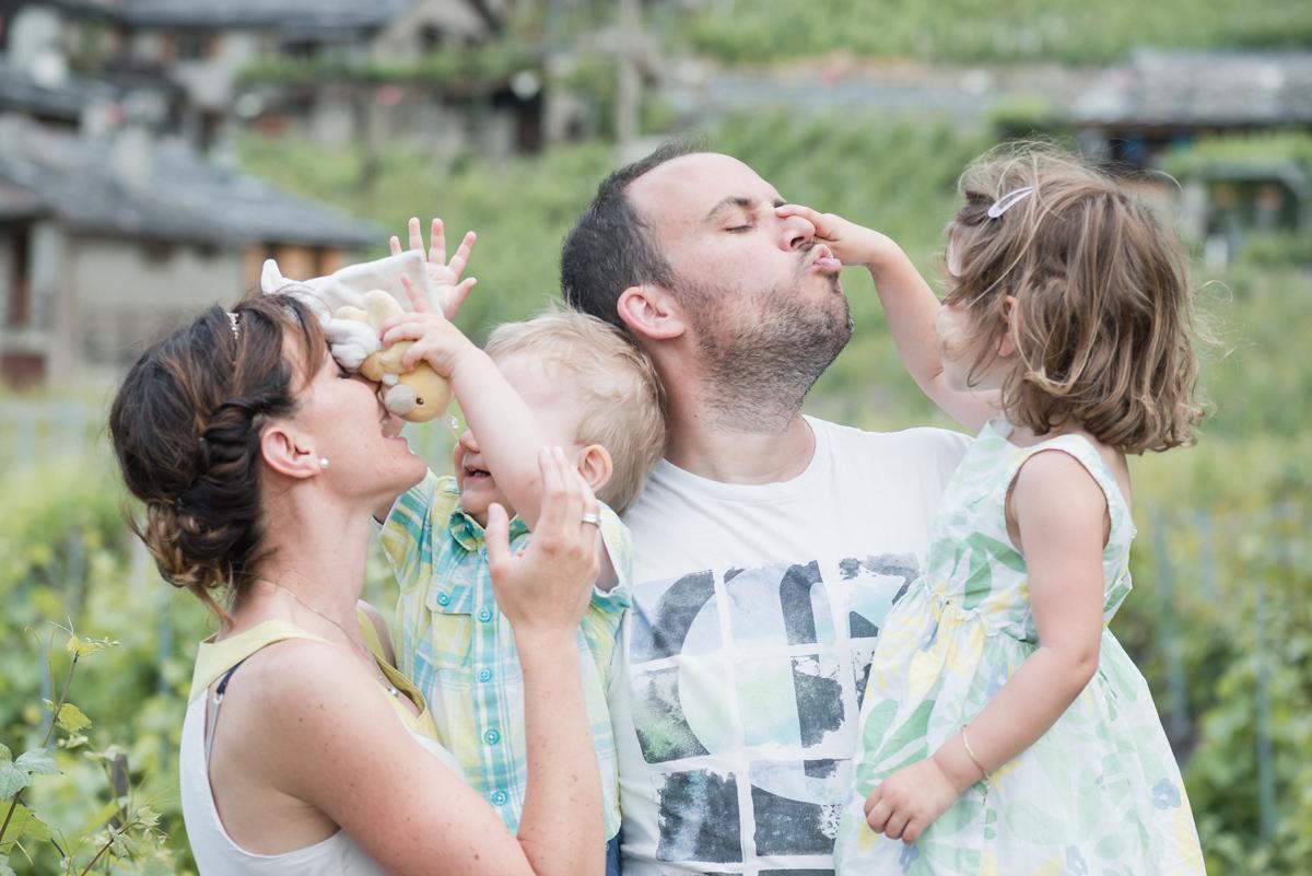 Photographe famille Valais