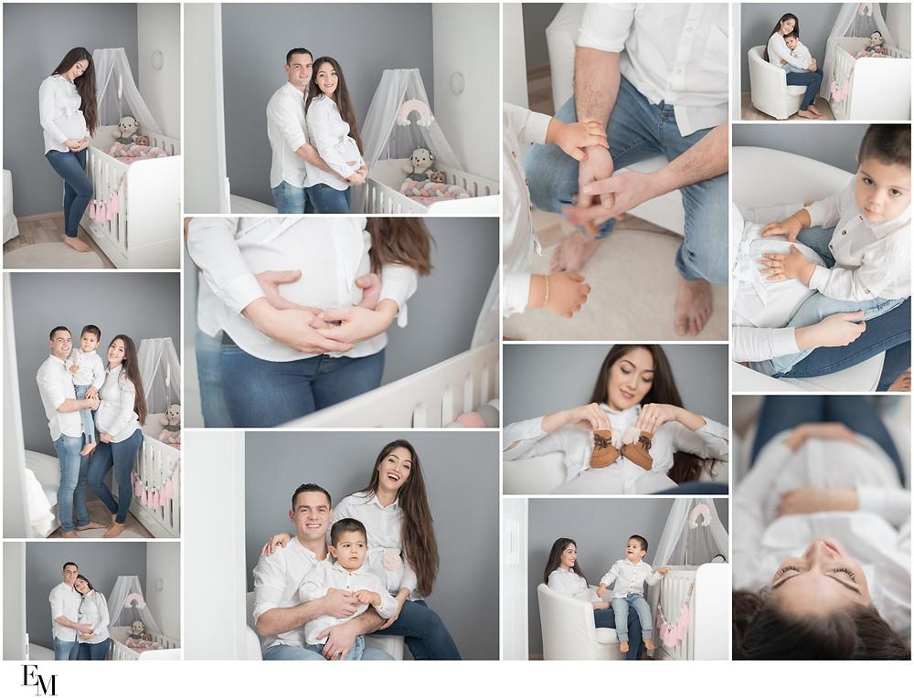 séance grossesse à la maison en Valais