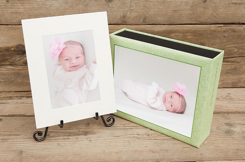Portfolio box et ses 10 prints