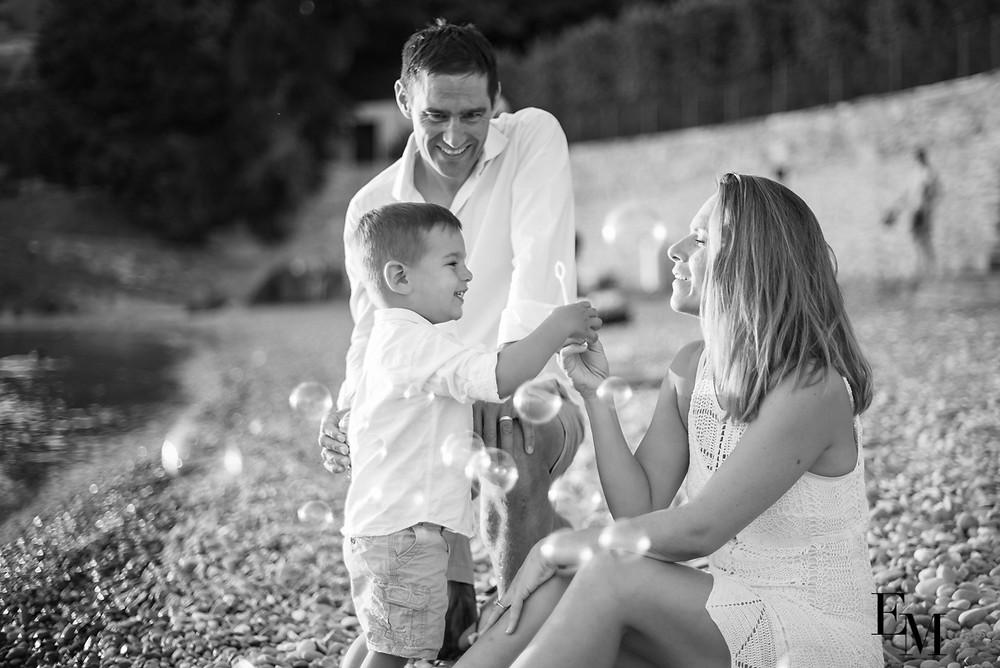 Photographie famille Saint-Saphorin Vaud